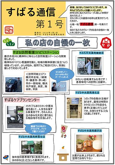 すばる通信 第1号2020/01/01